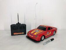 Vtg Radio Shack PORSCHE 959 Remote Control R/C Car Toy Retro 80s Rare 911