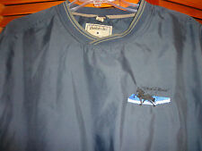 "Men's Dunbrooke Club Collection ""What a Horse"" Poly Pullover Jacket Size L Large"