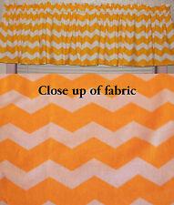 New Yellow White Chevron  Zigzag Stripe Valances Curtain Window Cover