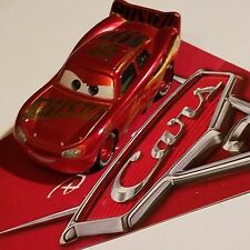 Disney Pixar World of Cars 3 Racing Center Rust-eze Lightning Mcqueen 1:55 Loose