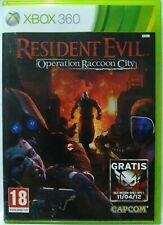 Resident Evil. Operation Raccoon City. XBox 360. Fisico. Pal Es