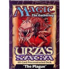 The Plague Urza's Saga Theme Deck - ENGLISH Sealed Brand New MTG MAGIC ABUGames