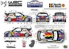 [FFSMC Productions] Decals 1/43 Citroën DS3 WRC Neuville Rallye de France 2012