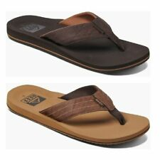 Reef Twinpin Lux Men Sandals | slipper | Leather - NEW
