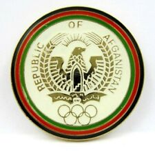 RARE AFGHANISTAN NOC OLYMPIC COMMITTEE OLYMPIC PIN GENERIC 1980s