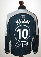 Kent Spitfires Cricket Club England jumper jacket #10 Khan Size L/XL