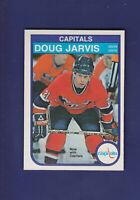 Doug Jarvis 1982-83 O-PEE-CHEE OPC Hockey #367 (NM) Washington Capitals