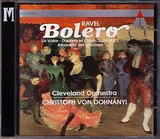 Christoph von DOHNANYI: RAVEL Bolero La Valse Daphnis et Chloe Alborada CD