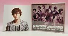 CD+DVD+Photo card SUPER JUNIOR JAPAN THE 1ST SINGLE BONAMANA Kyuhyun