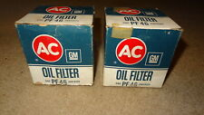 AC # PF 46 oil filters Pontiac & Buick with 301 V8. Grand Prix, Firebird, Regal