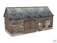 44-0057 Scenecraft OO Gauge Wooden Barn