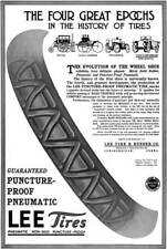 Lee Tires 1915 - Lee Tire Ad - The Four Great Epochs in the History of Tires