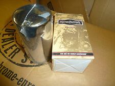 HARLEY DAVIDSON LONG CHROME OIL FILTER, FITS DYNA AND SPORTSTER BIG TWIN MODELS
