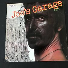Frank Zappa - Joe's Garage Act I - 1979 US 1st Press Ultrasonic Clean EX-NM