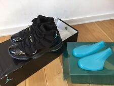 BNIB Air Jordan 11s XI Gamma Blu Sneakers in Size 10 US DS Space Jams Yeezy Don