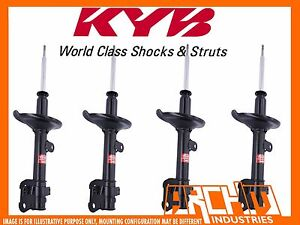 MAZDA EUNOS 06/1996-10/1997 FRONT & REAR KYB SHOCK ABSORBERS