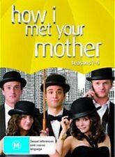 HOW I MET YOUR MOTHER SEASONS 1 - 5 : NEW DVD