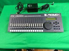 PEAVEY PC 1600X FADER MIDI COMMAND STATION