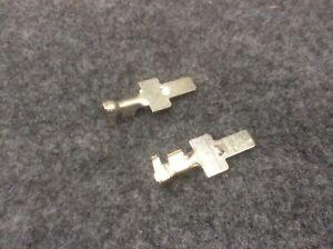Pair Of Male Terminals For Convertors Socket Fiat Peugeot Citroen MTA 1707685
