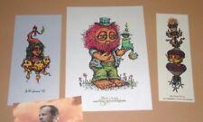 Marq Spusta Mofilkins Silver Champagne Gnome Prince Variant Art Print Poster