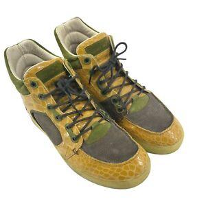 Alexander McQueen Puma Sneakers Men 12 McQ Joust III Hi High Tops Trainers