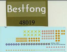 Bestfong Decals 1/48 IMPERIAL JAPANESE ARMY & NAVY KILL MARKINGS