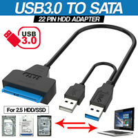2.5 Inch HDD SSD External Hard Drive Adapter USB 3.0 To SATA Cable Converter