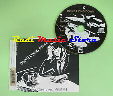 CD singolo DONE LYING DOWN negative one friends 1994 ENGLAND ABSCD105 (S17)