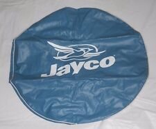"RV/CAMPER JAYCO NAME + JAYCO BIRD LOGO 30"" DIA. BLUE SPARE TIRE COVER"
