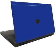 BLUE Vinyl Lid Skin Cover Decal fits Dell Precision M6600 Laptop