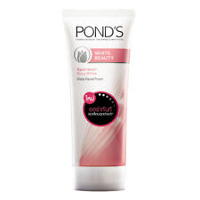 Pond's white beauty facial foam spot less cleansing whitening face wash 100 g.