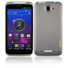 Skinomi Brushed Aluminum Full Body Cover+Screen Protector for HTC One X+ X Plus