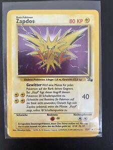 Zapdos Holo Pokémon Card TCG Fossil Top quality 15/62