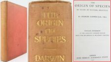 1910*CHARLES DARWIN*ORIGIN OF SPECIES JOHN MURRAY*EVOLUTION*NATURAL SELECTION*VG