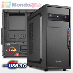 PC Computer AMD RYZEN 5 3400G 4,20 Ghz - ASRock - Ram 16 GB DDR4 - USB 3.1