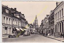 CPSM 59230 SAINT AMAND rue d'Orchies animé autos camionette Edit COMBIER