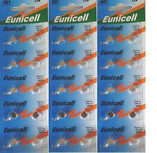 ENVOI AVEC SUIVI EUNICELL 30 Piles bouton AG1 LR621 164 364 531  1,5 VOLT