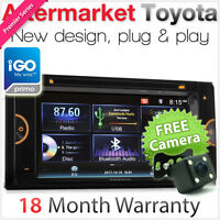 OEM Car DVD GPS Player For Toyota Corolla Camry Kluger Stereo Radio 1080p USB TU