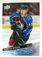 Bowen Byram 2020-21 Upper Deck Series 1 #205 Young Guns Rookie RC