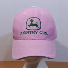 John Deere Country Girl Truckers Papá Mamá Sombrero Gorra de béisbol bb5674f4afc