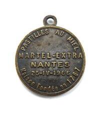 Medaille, Pastilles au Miel, Médaille, Martel-Extra, Nantes 25-IV-1966