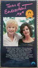 TERMS OF ENDEARMENT 1988 VHS NTSC PG MACLAIN NICHOLSON 5 OSCARS NEW 35% OFF 2+