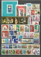 DDR 1973 gestempelt kompletter Jahrgang mit allen Einzelmarken sehr gute Stempel