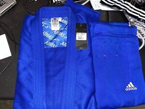 adidas Quest Jiu Jitsu Gi Blue A3