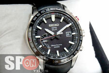 Seiko Sportura GPS Solar World Time Men's Watch SSF007J1