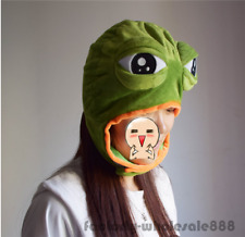 Clothing, Shoes & Accessories Halloween Sad Frog Pepe Costume Warmer Slipper Beanie Unisex Adults Xmas Gifts