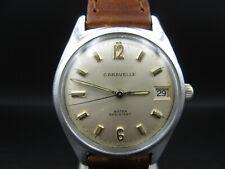 "X9 ⭐⭐Vintage "" Caravelle "" Hand Wound Men's Wristwatch ⭐⭐"