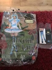 Alice in Wonderland Fancy Dress Costume Size 8-10 Small Short