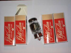Genalex Gold Lion KT 88, Quartett neu, vom Hersteller gematchtes Quartett.