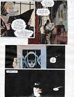 BATMAN MASTER OF THE FUTURE Pg #11 HAND COLORED PRINT GUIDE Barreto, Steve Oliff